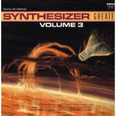 Discos de vinilo: SYNTHESIZER - GREATEST. VOLUME 3 - LP 1991. Lote 187101191