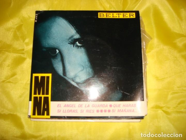 MINA. EL ANGEL DE LA GUARDA + 3 . EP. BELTER, 1965. IMPECABLE (#) (Música - Discos de Vinilo - EPs - Canción Francesa e Italiana)