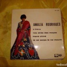 Discos de vinilo: AMALIA RODRIGUES. O TREVO + 3. EP. LA VOZ DE SU AMO, 1967. PROMOCIONAL. IMPECABLE (#). Lote 187107136