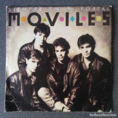 Discos de vinilo: SINGLE EP MOVILES SIEMPRE EN MI PORTAL. Lote 187108201