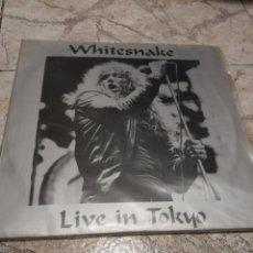 Discos de vinilo: WHITESNAKE. LIVE IN TOKYO. DOBLE VINILO. Lote 187113526