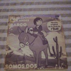 Discos de vinilo: MARCO DE LOS APENINOS A LOS ANDES. Lote 187114263