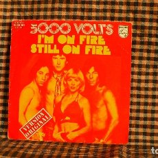 Disques de vinyle: 5000 VOLTS ?– I'M ON FIRE / STILL ON FIRE, 1975, PHILIPS ?– 60 06 464.. Lote 187121960