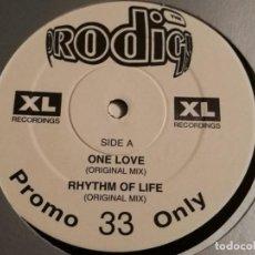 Discos de vinilo: THE PRODIGY - ONE LOVE - 1993. Lote 187125272