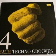 Discos de vinilo: TECHNO GROOVES - MACH 4 - 1991. Lote 187125458