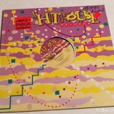Discos de vinilo: MENG SYNDICATE - ARTIFICIAL FANTASY / CARPEDIEM - 1991. Lote 187125868