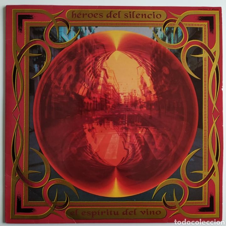 HÉROES DEL SILENCIO - EL ESPÍRITU DEL VINO - EMI - ESPAÑA - 1993 - DOBLE LP - PÓSTER - ENCARTES - EX (Música - Discos - LP Vinilo - Grupos Españoles de los 90 a la actualidad)