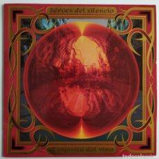 Discos de vinilo: HÉROES DEL SILENCIO - EL ESPÍRITU DEL VINO - EMI - ESPAÑA - 1993 - DOBLE LP - PÓSTER - ENCARTES - EX. Lote 185435748