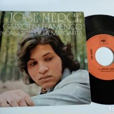 Discos de vinilo: SINGLE-JOSE MERCE-EL GARROTIN FLAMENCO-1971-SPAIN-. Lote 187152553