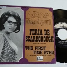 Discos de vinilo: SINGLE-NANA MOUSKOURI-FERIA DE SCARBOROUGH-1969-SPAIN-. Lote 187153390