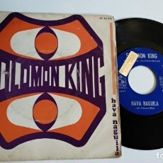 Discos de vinilo: SINGLE-SOLOMON KING-SOMEWHERE IN THE CROWD-1968-SPAIN-. Lote 187153587