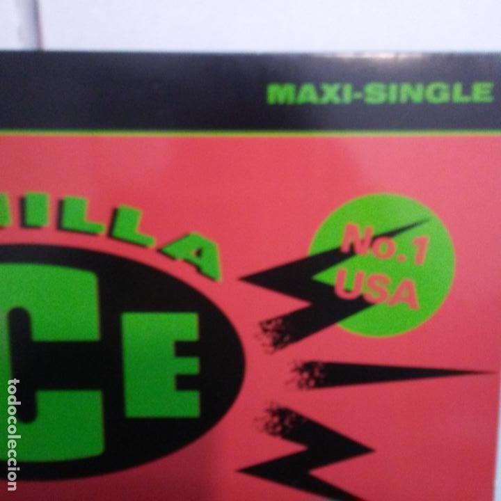 Discos de vinilo: VAINILLA ICE -ICE ICE BABY-MAXI - Foto 2 - 187154877