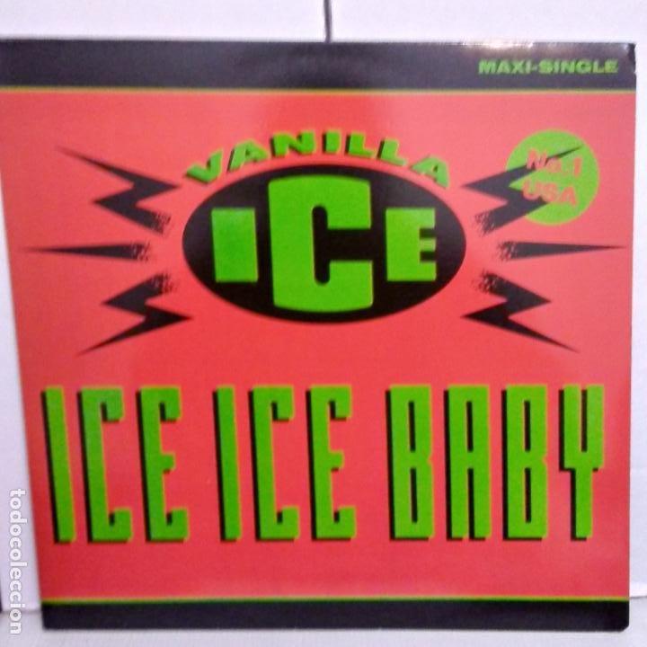 VAINILLA ICE -ICE ICE BABY-MAXI (Música - Discos de Vinilo - EPs - Rap / Hip Hop)