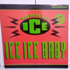 Discos de vinilo: VAINILLA ICE -ICE ICE BABY-MAXI. Lote 187154877