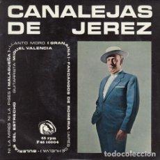 Discos de vinilo: CANALEJAS DE JEREZ - NI LA MIRES NI LA PISES - EP DE VINILO EN DISCOS FIDIAS. Lote 187155360