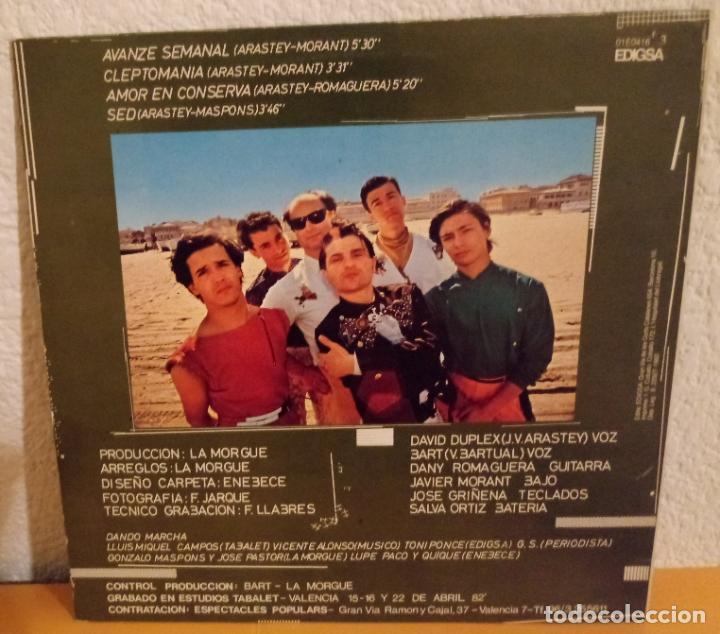 Discos de vinilo: J - LA MORGUE - AVANZE SEMANAL - CLEPTOMANIA - AMOR EN CONSERVA - SED - Foto 2 - 187155657
