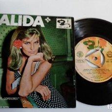 Discos de vinilo: EP-DALIDA-MANUEL BENITEZ EL CORDOBES-1966-SPAIN-. Lote 187156060