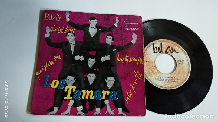 EP-LOS TAMARA-TWIST,TWIST,-1962-SPAIN- (Música - Discos de Vinilo - EPs - Pop - Rock Extranjero de los 50 y 60)