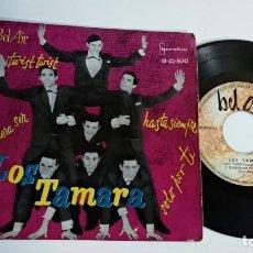 Discos de vinilo: EP-LOS TAMARA-TWIST,TWIST,-1962-SPAIN-. Lote 187157297