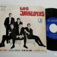 Discos de vinilo: EP-LOS JAVALOYAS-NUESTRO JURAMENTO-1964-SPAIN-. Lote 187157533