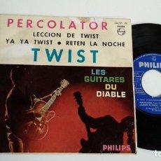 Discos de vinilo: EP-LAS GUITARRAS DEL DIABLO-PERCOLATOR TWIST-1962-SPAIN-. Lote 187157831