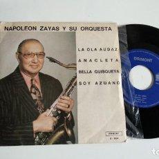 Discos de vinilo: EP-NAPOLEON ZAYAS Y SU ORQUESTA-LA OLA AUDAZ-1978-SPAIN-. Lote 187158067