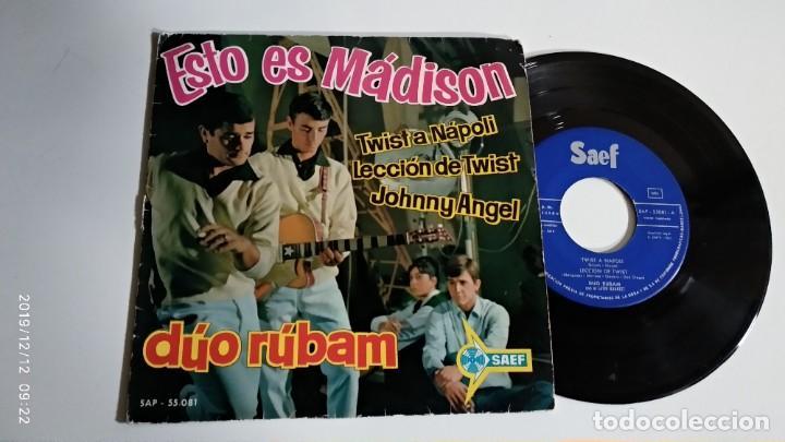 EP-DUO RUBAM-ESTO ES MADISON-1961-SPAIN- (Música - Discos de Vinilo - EPs - Pop - Rock Extranjero de los 50 y 60)