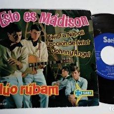 Discos de vinilo: EP-DUO RUBAM-ESTO ES MADISON-1961-SPAIN-. Lote 187158932