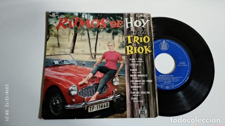 EP-TRIO BIOK-RITMOS DE HOY-1961-SPAIN- (Música - Discos de Vinilo - EPs - Pop - Rock Extranjero de los 50 y 60)