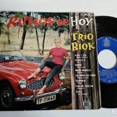 Discos de vinilo: EP-TRIO BIOK-RITMOS DE HOY-1961-SPAIN-. Lote 187159345