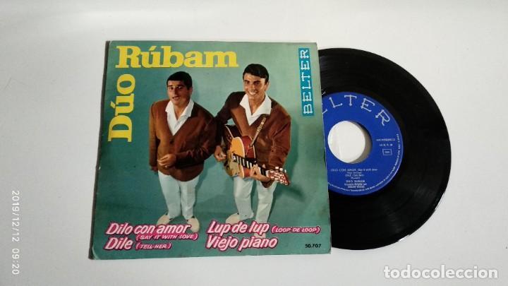 EP-DUO RUBAM-DILO CON AMOR-1963-SPAIN- (Música - Discos de Vinilo - EPs - Pop - Rock Extranjero de los 50 y 60)
