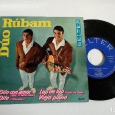 Discos de vinilo: EP-DUO RUBAM-DILO CON AMOR-1963-SPAIN-. Lote 187159531