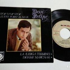 Discos de vinilo: EP-DON FELIPE-STOP,STOP,STOP-1966-SPAIN-. Lote 187159718