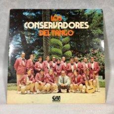 Discos de vinilo: LOS CONSERVADORES DEL TANGO. Lote 187159901