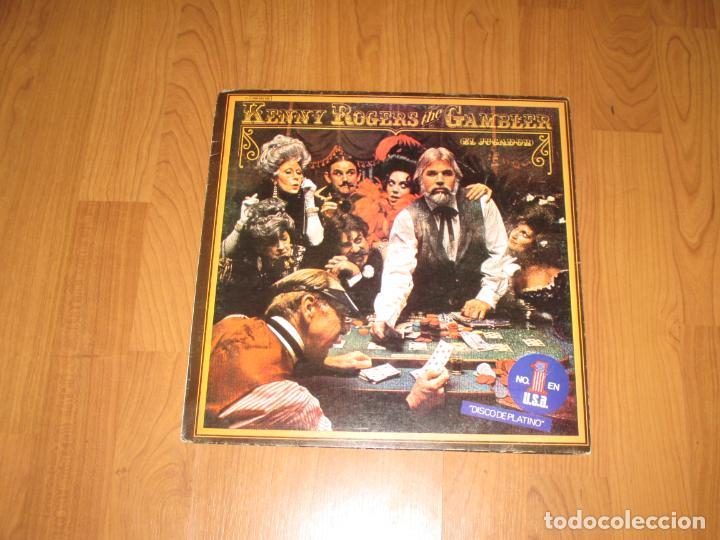 Discos de vinilo: KENNY ROGERS - THE GAMBLER - SPAIN - LIBERTY - EMI - IBL - - Foto 2 - 187167011