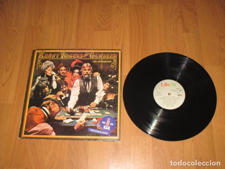 KENNY ROGERS - THE GAMBLER - SPAIN - LIBERTY - EMI - IBL - (Música - Discos de Vinilo - Maxi Singles - Country y Folk)