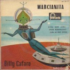 Discos de vinilo: EP BILLY CAFARO MARCIANITA + 3. Lote 187168655