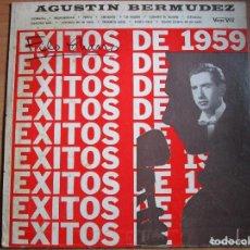 Discos de vinilo: AGUSTIN BERMUDEZ LP VENEZUELA - FLORECITA - ESPAÑOLA - SANTA CRUZ - SEÑORITA LUNA - PEPITA - . Lote 187169925