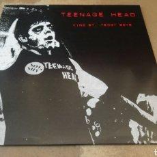 Discos de vinilo: TEENAGE HEAD–KING ST. TEDDY BOYS . LP VINILO COLOR ROSA. NUEVO. Lote 187172181