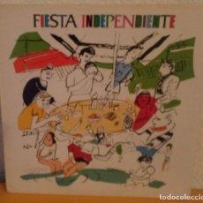 Discos de vinilo: J - FIESTA INDEPENDIENTE - STUKAS - MOTOS - LOS SANTOS - LAVABOS ITURRIAGA -. Lote 187172183