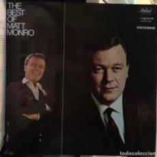 Discos de vinilo: THE BEST OF MATT MONRO - MONRO, MATT.. Lote 173686295