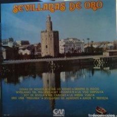 Discos de vinilo: SEVILLANAS DE ORO. Lote 173686300
