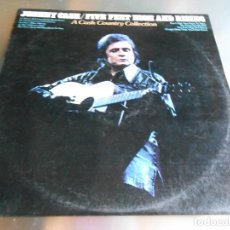 Discos de vinilo: JOHNNY CASH / FIVE FEET HIGH AND RISING, LP, TOSSING & TRUNING + 8, AÑO 1975. Lote 187184483