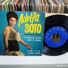 Discos de vinilo: ADELFA SOTO. Lote 187188573