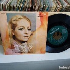 Discos de vinilo: CONCHITA MARQUEZ PIQUER ESCOMBROS DE AMOR. Lote 187189672