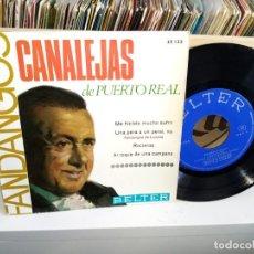 Discos de vinilo: CANALEJAS DE PUERTO REAL FANDANGOS BELTER 52132. Lote 187190257