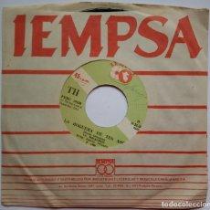 Discos de vinilo: LA MILAGROS - COMO UNA LOBA / LA HOGUERA DE TUS AÑOS . SINGLE PERUANO 1986 - IEMPSA - SALSA. Lote 187195411