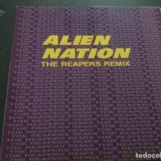 Discos de vinilo: ALIEN NATION - THE REAPERS REMIX . Lote 187197096