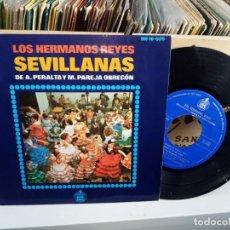 Discos de vinilo: LOS HERMANOS REYES . Lote 187197635