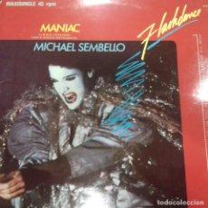 Discos de vinilo: MANIAC (LONG VERSION) FLASHDANCE MICHAEL SEMBELLO. Lote 187201083